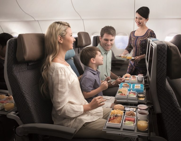 Singapore Airlines Is Stepping up Its Aeroplane Food Game