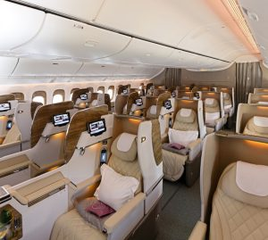 Emirates Boeing 777 Business Class 1