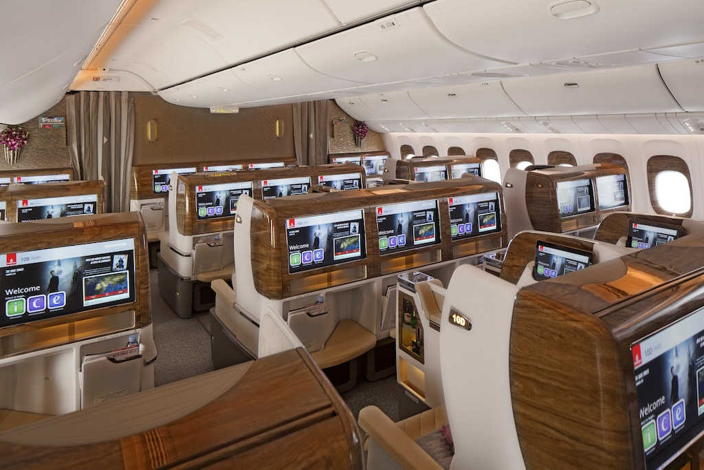 Emirates Boeing 777 Business Class 2