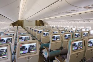 Emirates Boeing 777 Economy Class 2