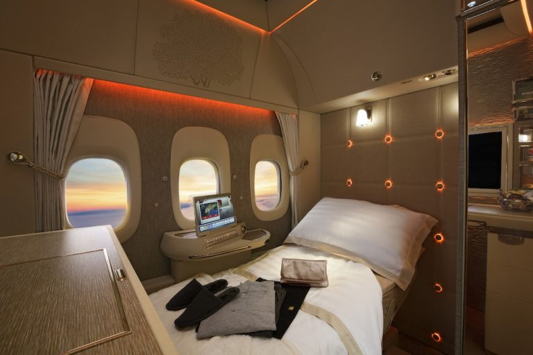 Emirates Unveils New First Class Suites, Inspired by Mercedes Benz