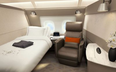 The Singapore Airlines Suites Are Flying Hotel Rooms