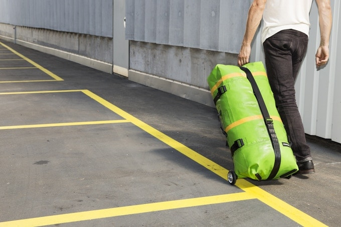 The Freitag Zippelin Is a Unique and Inflatable Travel Bag